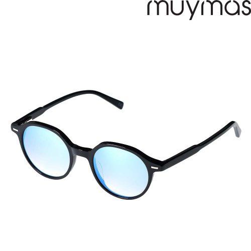 Occhiali da Sole Unisex Acetato Rotondi