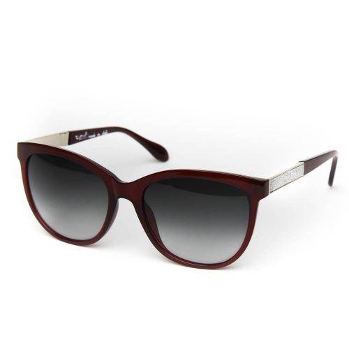 Occhiali Da Sole Donna Glitter Acetato Lusso Quadrati Mod. MUYG011S