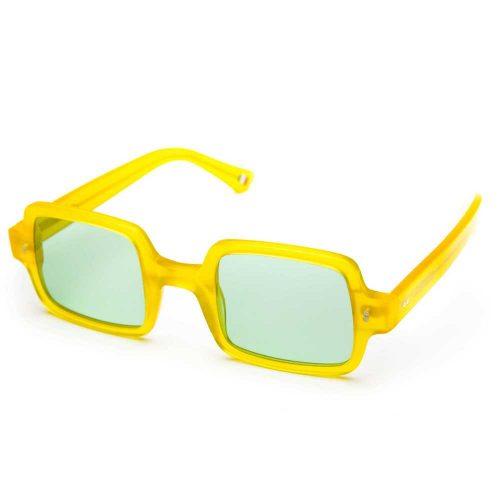 occhiali da sole unisex quadrati multicolore