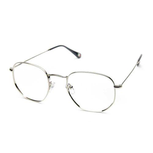 Occhiali da vista unisex metallo titanio