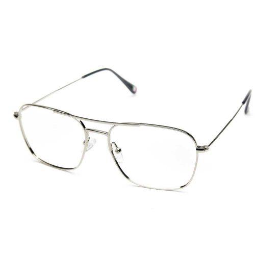 occhiali da vista aviator arrotondati unisex grandi